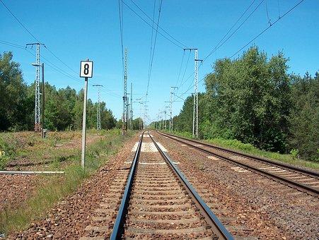 Rail, Railway, Train, Rail Traffic, Railroad Track