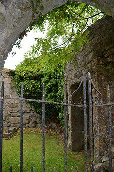 Ruin, Old, Leave, Decay, Building, Architecture, Lapsed