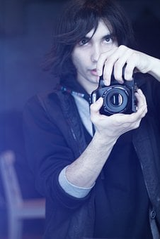 Self Portrait, Photographer, Moscow, Camera, Mirror