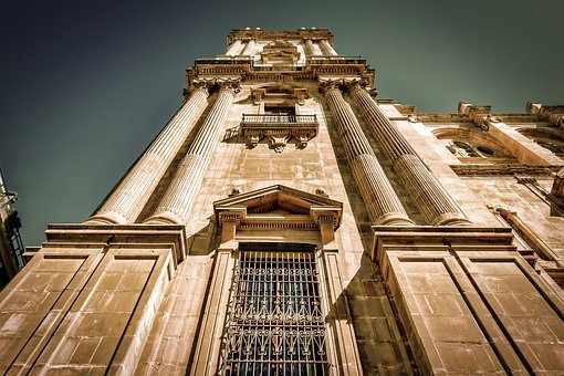 Malaga, Cathedral, Architecture, Spain, Andalusia