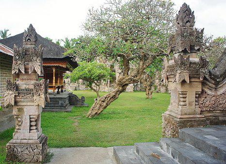 Indonesia, Bali, Temple, Sculptures, Statues, Religion