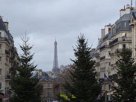 View, Of, Paris, Tower, Eiffel