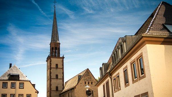 Magnus Church, Worms, Church, Building, Religion