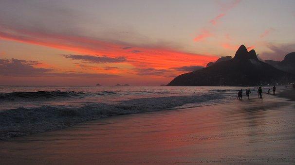 Beach, Brazil, Sea