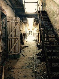 Penitentiary, Philadelphia, Cell, Prison, Jail