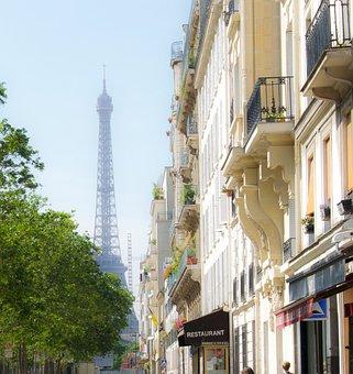 Eiffel Tower, City, Urban, Paris, France, Architecture