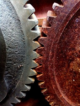 Tractor, Cogs, Rust, Old, Machine, Engine, Abandoned