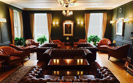 Furniture, Leather, Seating Furniture, Old, Atmosphere