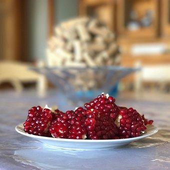 Fruit, Pomegranate, Food, Fresh, Healthy, Organic