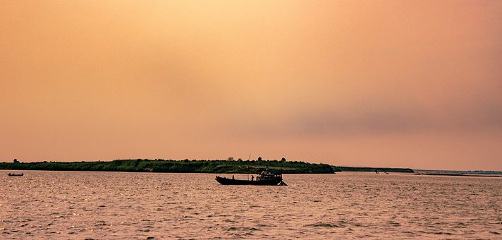 Ganga, River, Boat, India, Religion, Travel, Asia