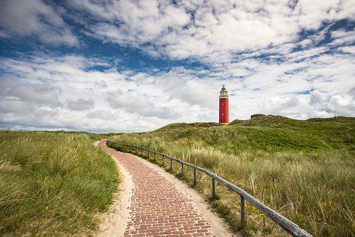 Lighthouse, Away, Island, Nature, Coast, Holiday