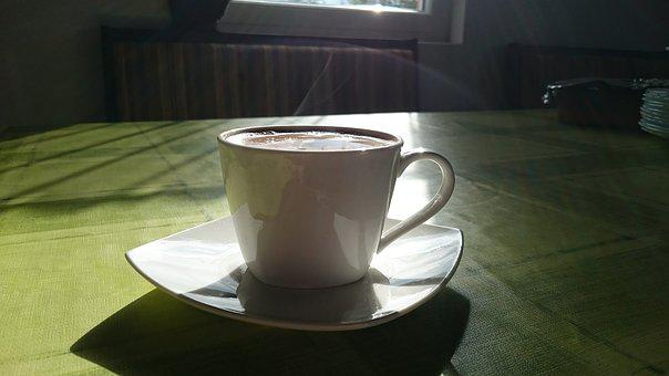 Coffee, Hot, Morning, Cup