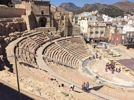 Cartagena, Roman Theatre, Cartagena Roman Theater