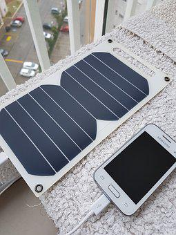 Solar Panel, Cellular, Cell Phone, Solar Charge, Brazil