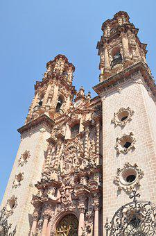 Cathedral, Mexico, Church, Architecture, Temple