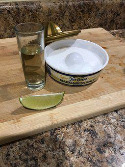 Tequila, Shots, Alcohol, Mexico, Salt, Lime