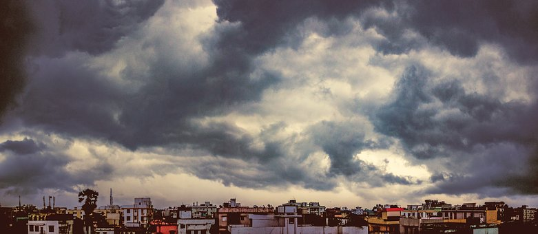 Clouds, Storm, Storm Clouds, Sky, Nature, Weather, Dark
