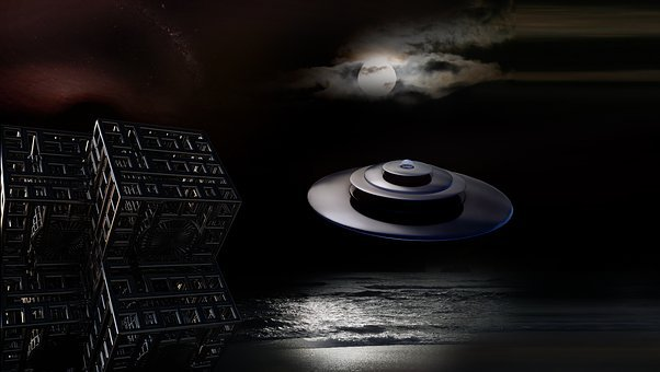 Background Image, Cover, Forward, Fantasy, Space, Ufo