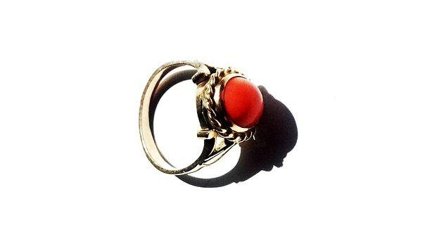 Ring, Coral, Blackjack, Jewelry, Gold, The Jeweler
