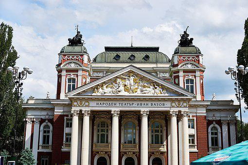 Sofia, Bulgaria, National Theater, Building