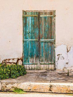 Door, Old, Aged, Weathered, Rusty, Decay, Entrance
