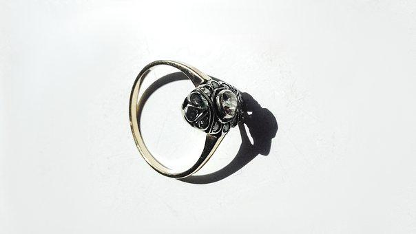 Ring, Jewelry, Diamond, Engagement Ring, Gold, Silver