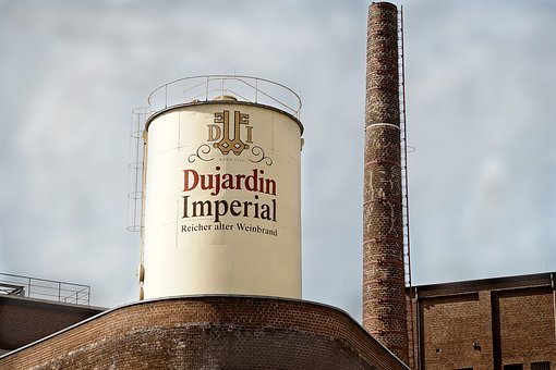 Factory, Wine Distillery, Manufacturing, Dujardin