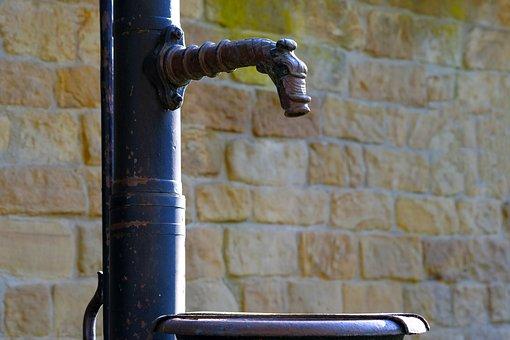 Fountain, Nostalgic, Historically, Cock Pump