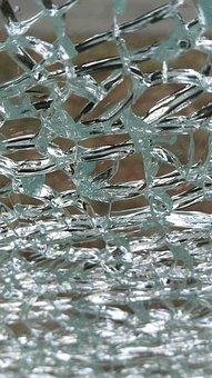 Glass, Pane, Cracked, Crack, Glass Panes