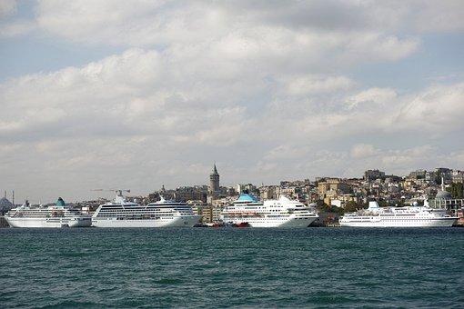 Travel, Ship, Marine, Port, Landscape, Coastline