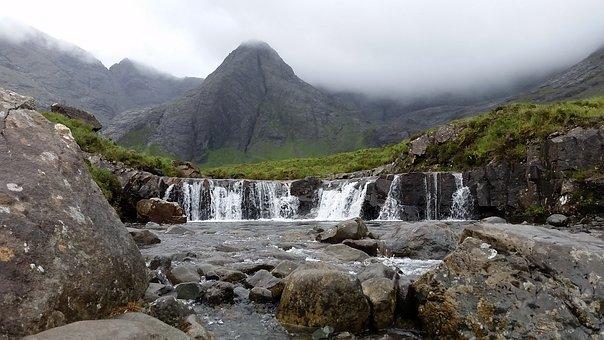 Fairy Pools, Scotland, Nature, Skye, Landscape