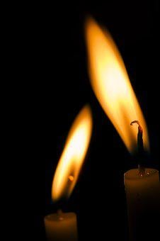 Candle, Light, Sin, Night, Burn, Hell, Yellow