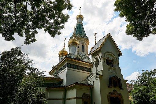 Sofia, Bulgaria, Church, Orthodox, Bulgarian Orthodox