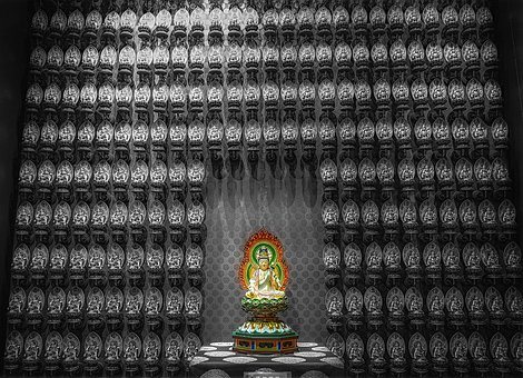 Worship, Buddhist Figure, Asia, Buddhism, Buddhist