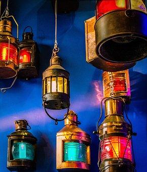 Lanterns, Color, Colorful, Illuminated, Vibrant, Shiny