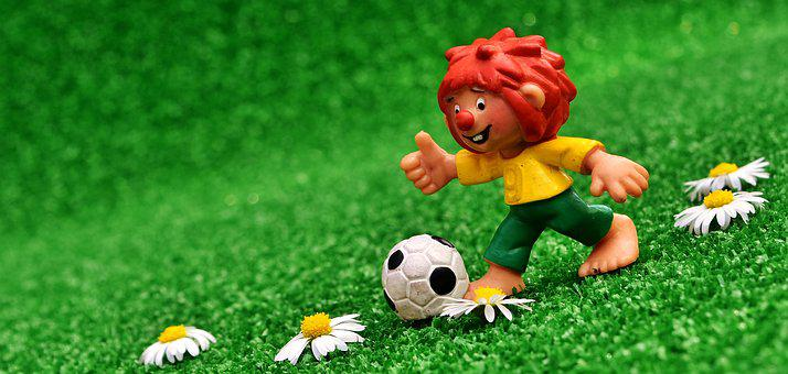 Pumuckl, Figure, Cute, Football, Funny, Children, Toys