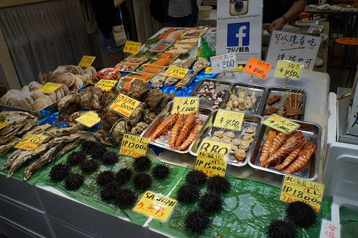 Fresh, Sea Products, Japan, Black Door Market