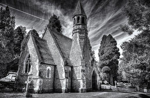 Henley On Thames, Church, Hdr, Architecture