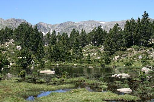 Bergsee, Pyrenees, Moor, Mountain Landscape, Landscape