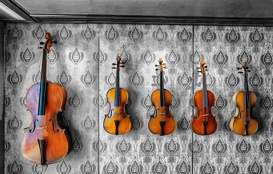 Violin, Music, Instrument, Musical, Fiddle, Classical