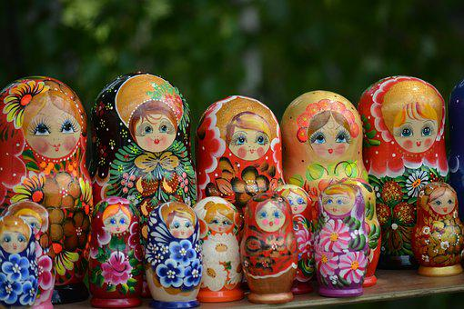 Matryoshka, Russian Traditions, Russian Culture, Toy