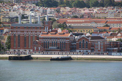 Lisbon, Sea, Portugal, Water, Bridge, Atlantic, Port