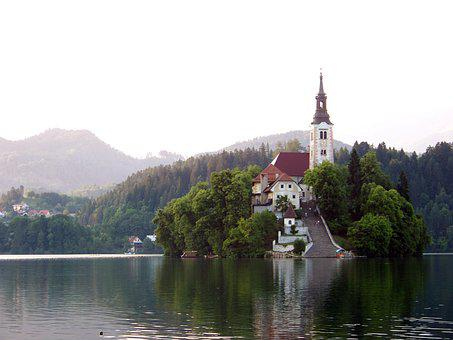 Lake Bled, Slovenia, Karawanken, Jumbo, Alpine Hiking