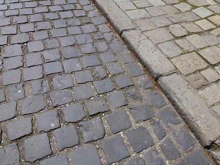 Stone Paving, Road, Stone, Away, Steinig, Hard, Paved