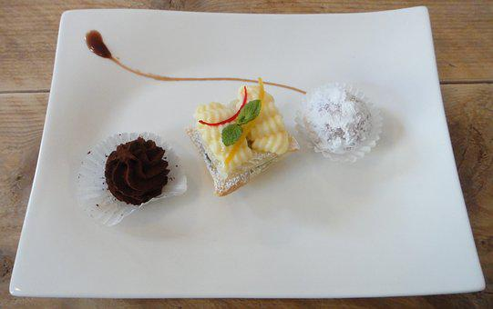 Dessert, Cafe, Pastry Shop, Sweet, Pastries, Appetizing