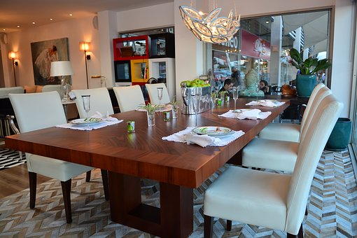 Table, Dining Room, Classic