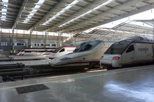 Renfe, Ave, Train, Railway, Spain, Station, Travel