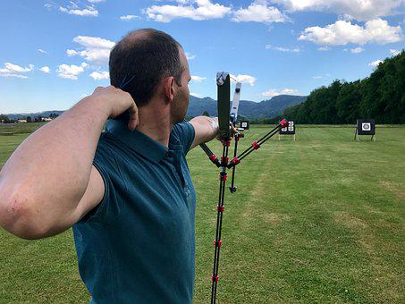 Archery, Bogensport, Arch, Delivering, Without Fail