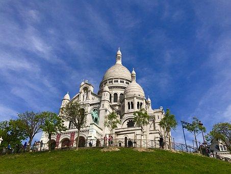 Basilica Du Sacre-couer, Montmartre, Paris, Basilica