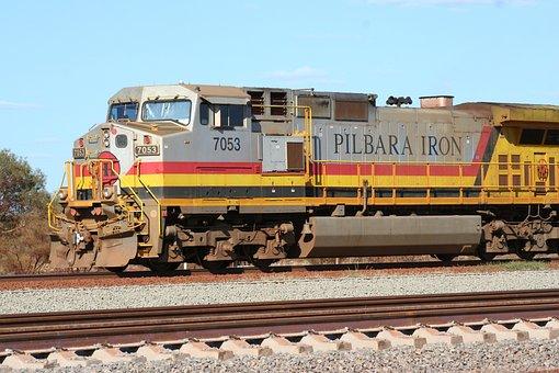 Railway, Australia, Train